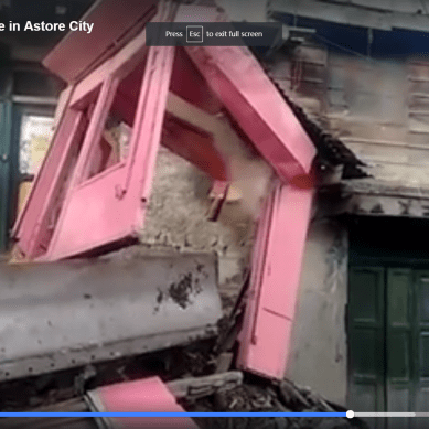 District admin launches anti-encroachment drive in Astore City