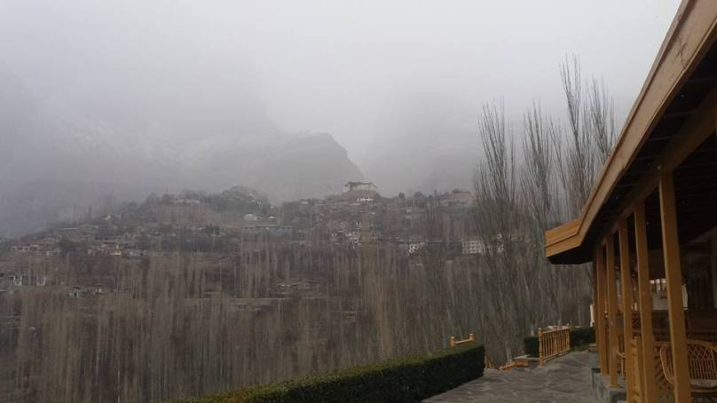 Season's first snowfall ends dry spell in Gilgit, Baltistan and Chitral