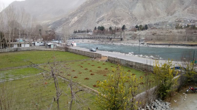 Preparations for spring plantation underway in Gilgit