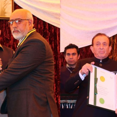 Hassan Hasrat and Inspector Attaullah conferred with Presidential Awards for Pride of Performance