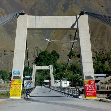 Chitral: Woman crushed to death by speedy Hiace after being hit by motorbike