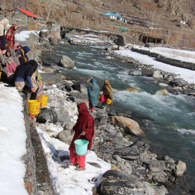 For the women of this Chitral village, getting water everyday is an uphill task