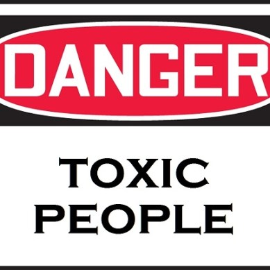 Please keep yourself away from toxicpeople