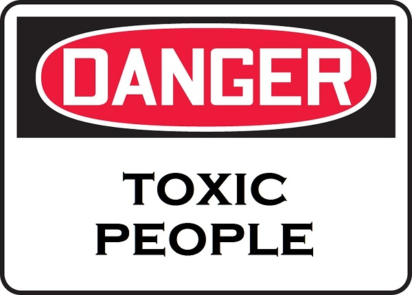 Please keep yourself away from toxic people