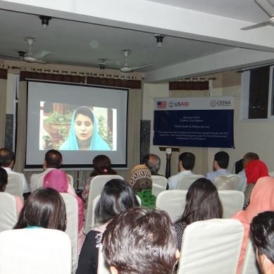 USAID, CEENA Health & Welfare Services build links with health sector for children's welfare