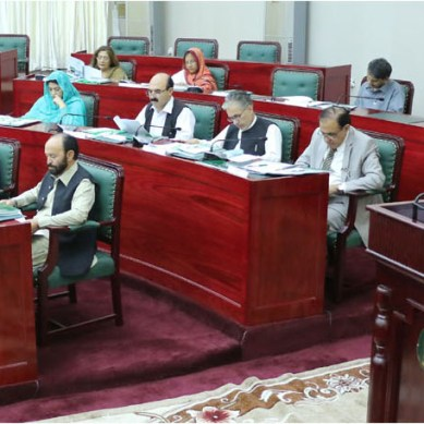 Gilgit-Baltistan govt presents 54.41 bn rupees annual budget