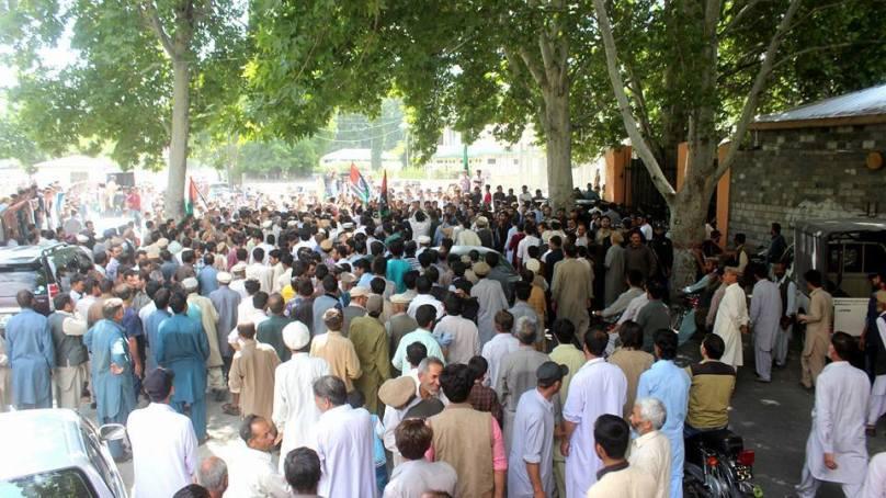 Gilgit-Baltistan Legislative Assembly turns into a fish market as legislators exchange blows, profanities