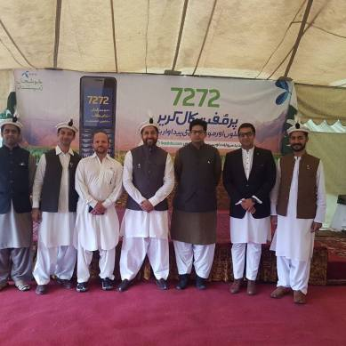 Telenor Pakistan launches 'mobile agriculture advisory services' in Gilgit-Baltistan