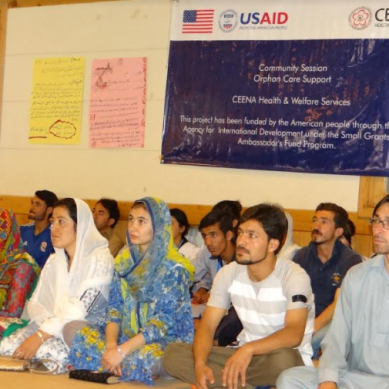 USAID, CEENA Health & Welfare Services sensitize 300 people in Ghizer on child rights