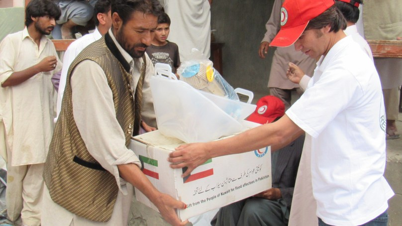 Skardu: Pakitan Red Crescent provides relief to 41 flood affected families