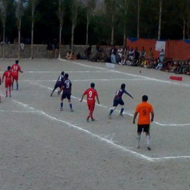 Jashan-e-Ghanche Football tournament 2017