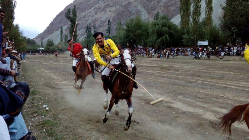 Yasin 'A' has won the first Diamond Jubilee Cup Polo Festival