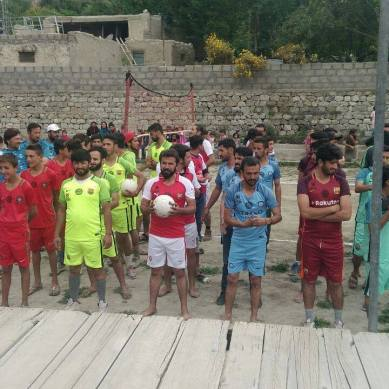 Shah Talib Super League Season 2 kicked off in Hussaini, Upper Hunza