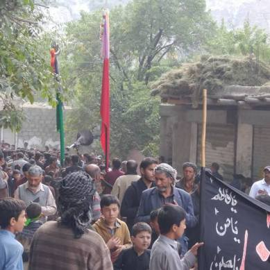 10th Muharram processions and congregations peacefully culminate in Ghanche, Baltistan