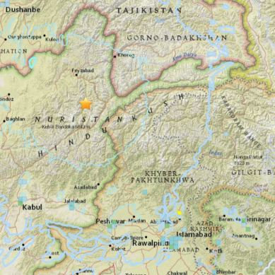 6.1 magnitude earthquake centered in Afghanistan also shakes parts of Pakistan