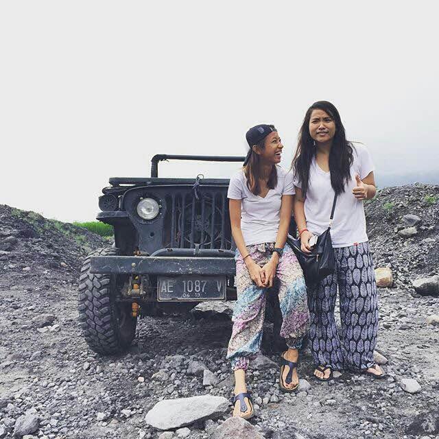 sunrise merapi tour jeep 4wd