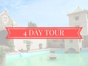 4 days tour jogja