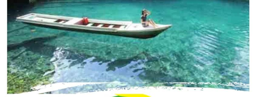 4D3N Derawan Island Labuan Cermin Lake