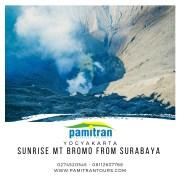 Sunrise Mt Bromo from Surabaya