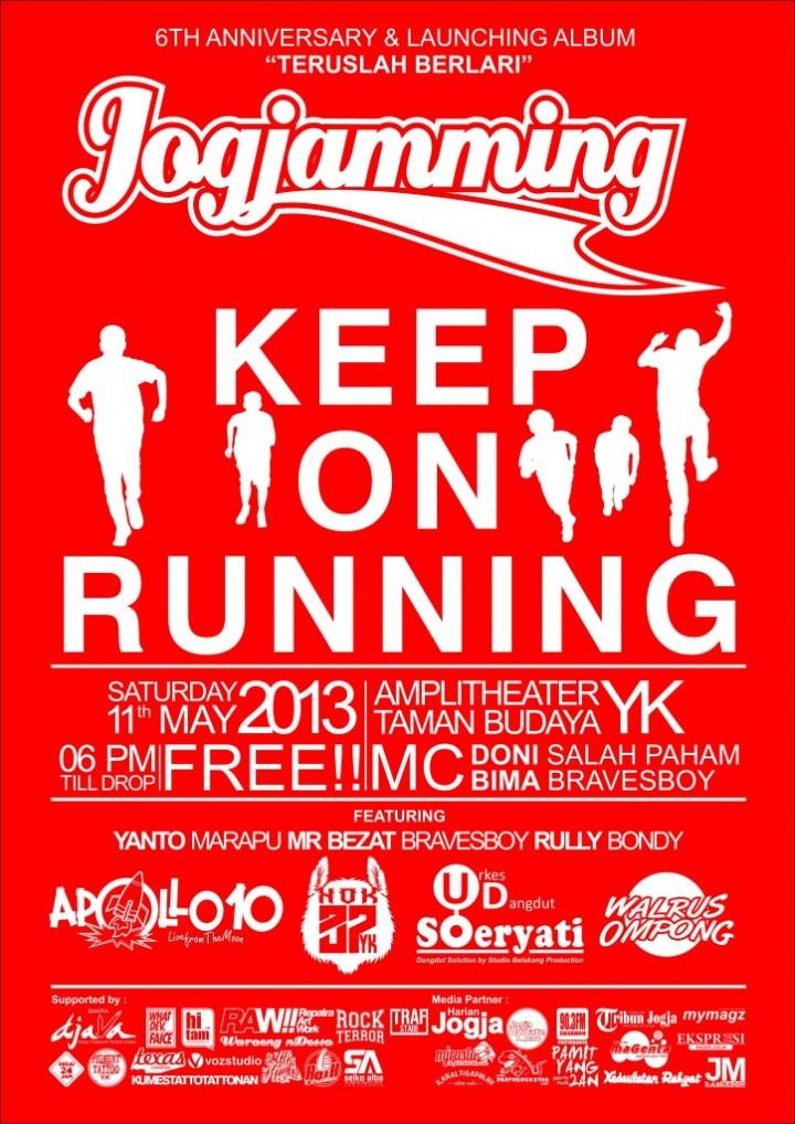 Jogjamming Poster