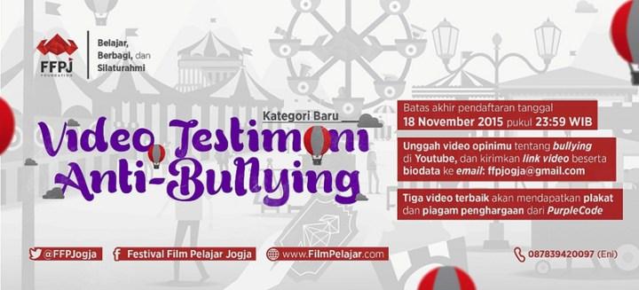 Poster Video Anti Bullying