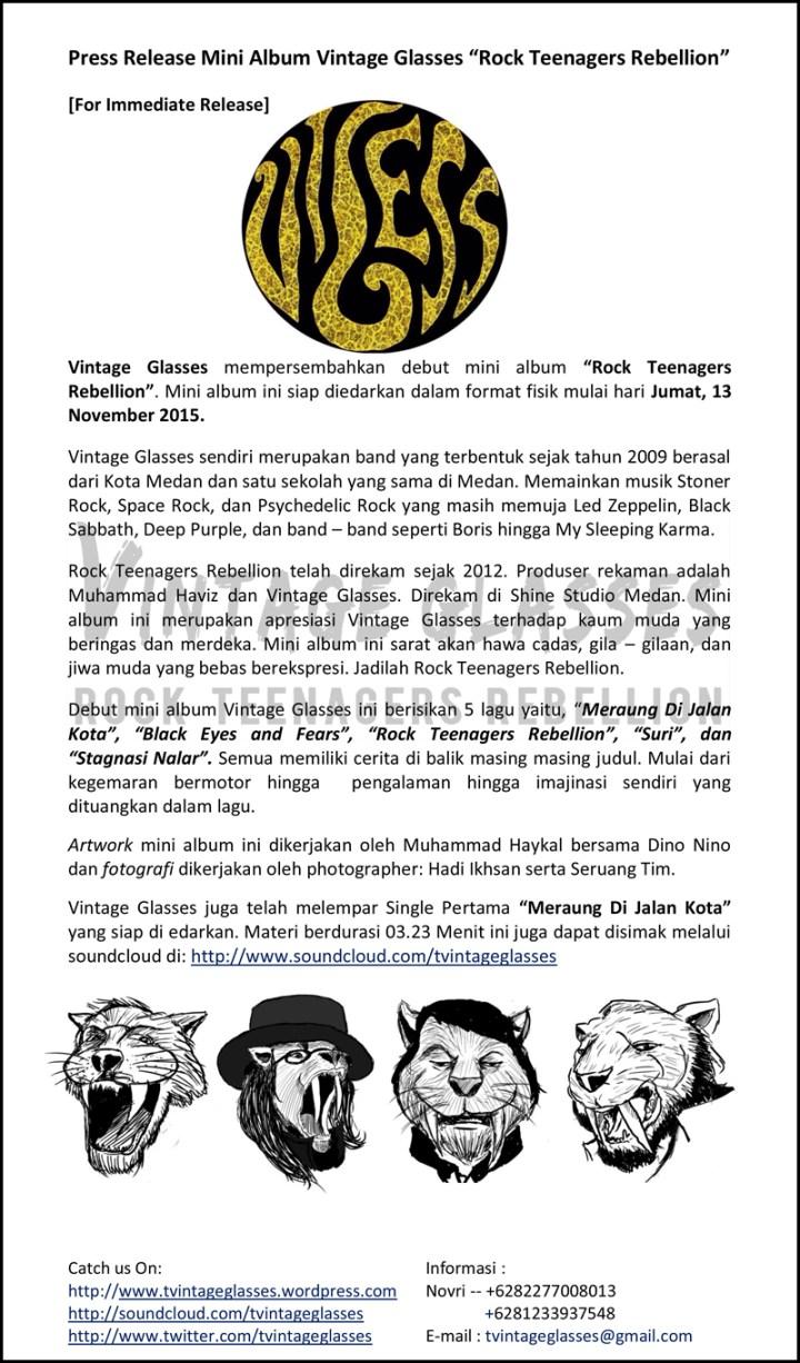 Press-Release-Mini-Album-Vintage-Glasses---Rock-Teenagers-Rebellion