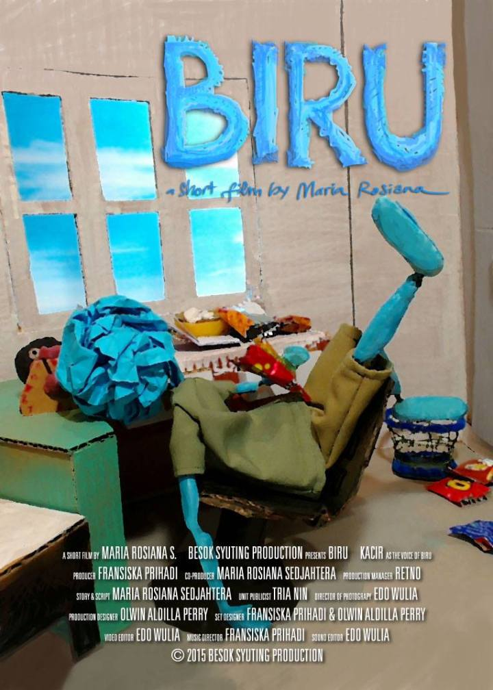 Poster Film Biru