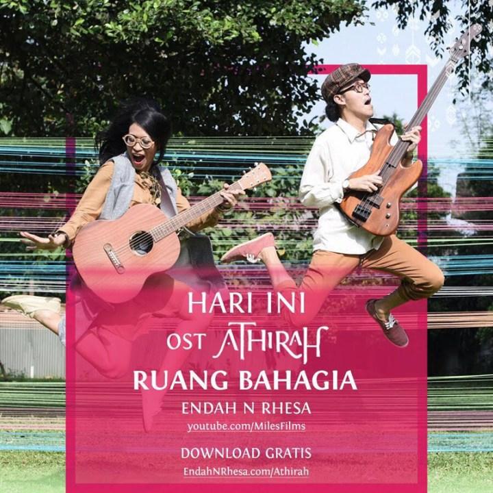 Flyer Promo Ruang Bahagia - OST Athirah