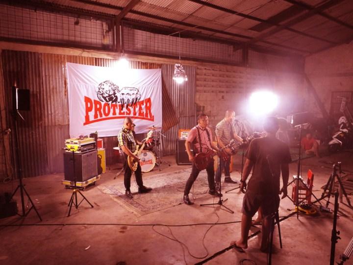 Pembuatan Video Klip Skinhead di Photographer Lounge