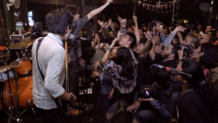5. Foto panggung Indische Party. Foto - Joen Ginting. 1