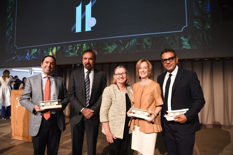 Frank Unanue, Jorge M. Pérez, Maureen Gragg, Debi Hoffman, & Naeem Khan