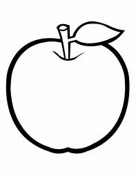 apple coloring pages to print sketch coloring page