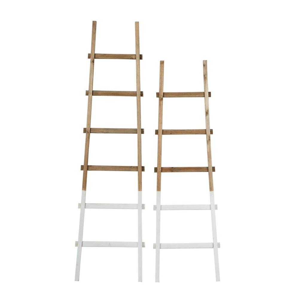 Decorative Bamboo Ladders (set of 2)