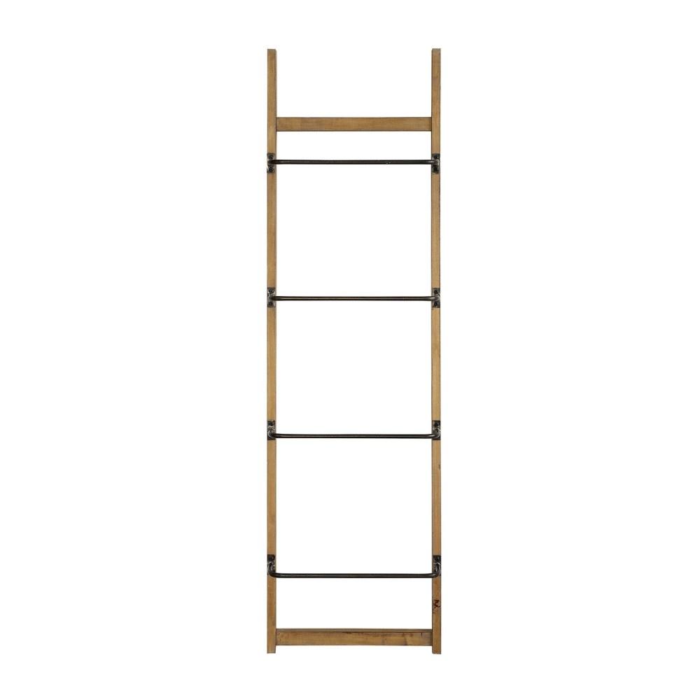 Wood Wall Rack Ladder