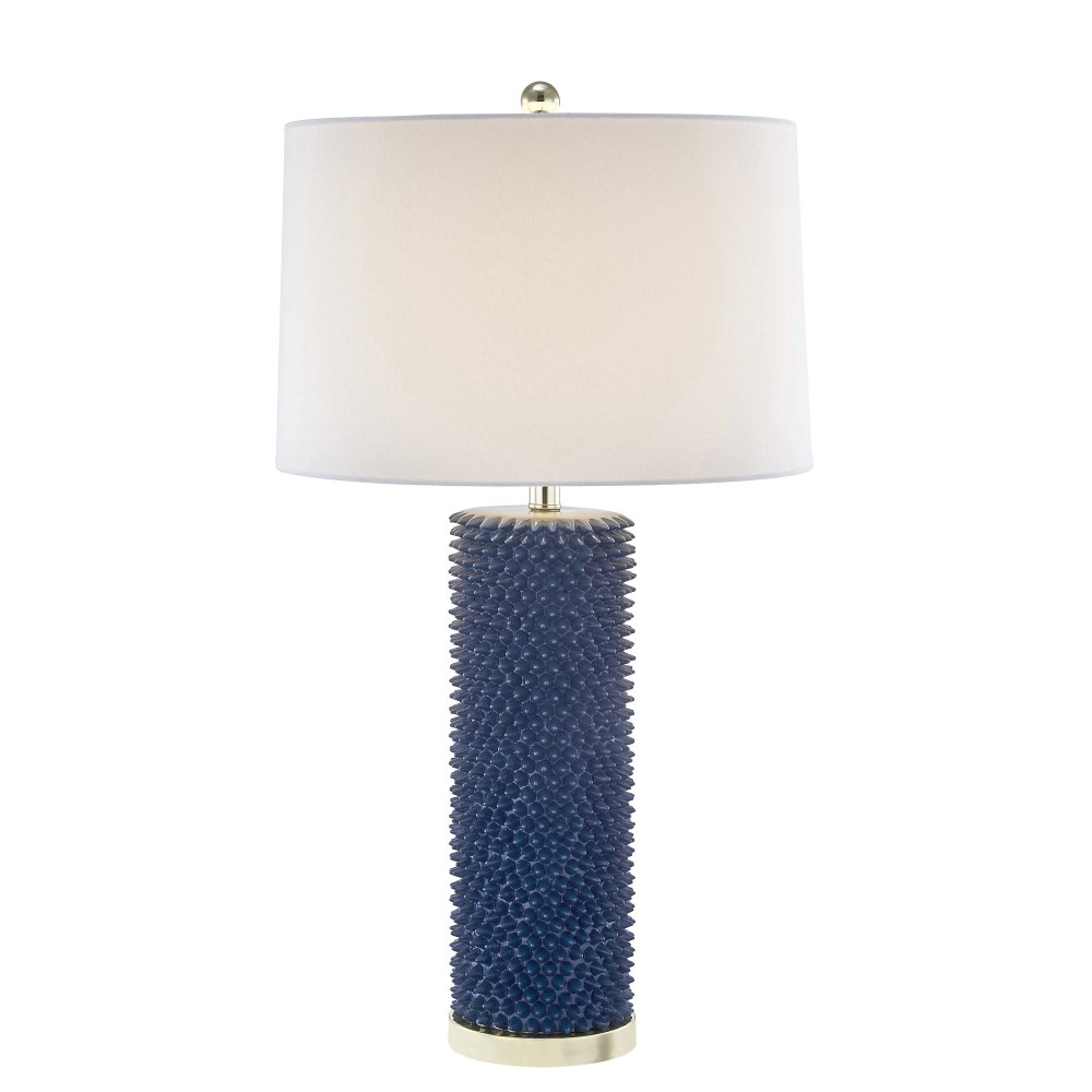 Roma Spiked Table Lamp - Blue