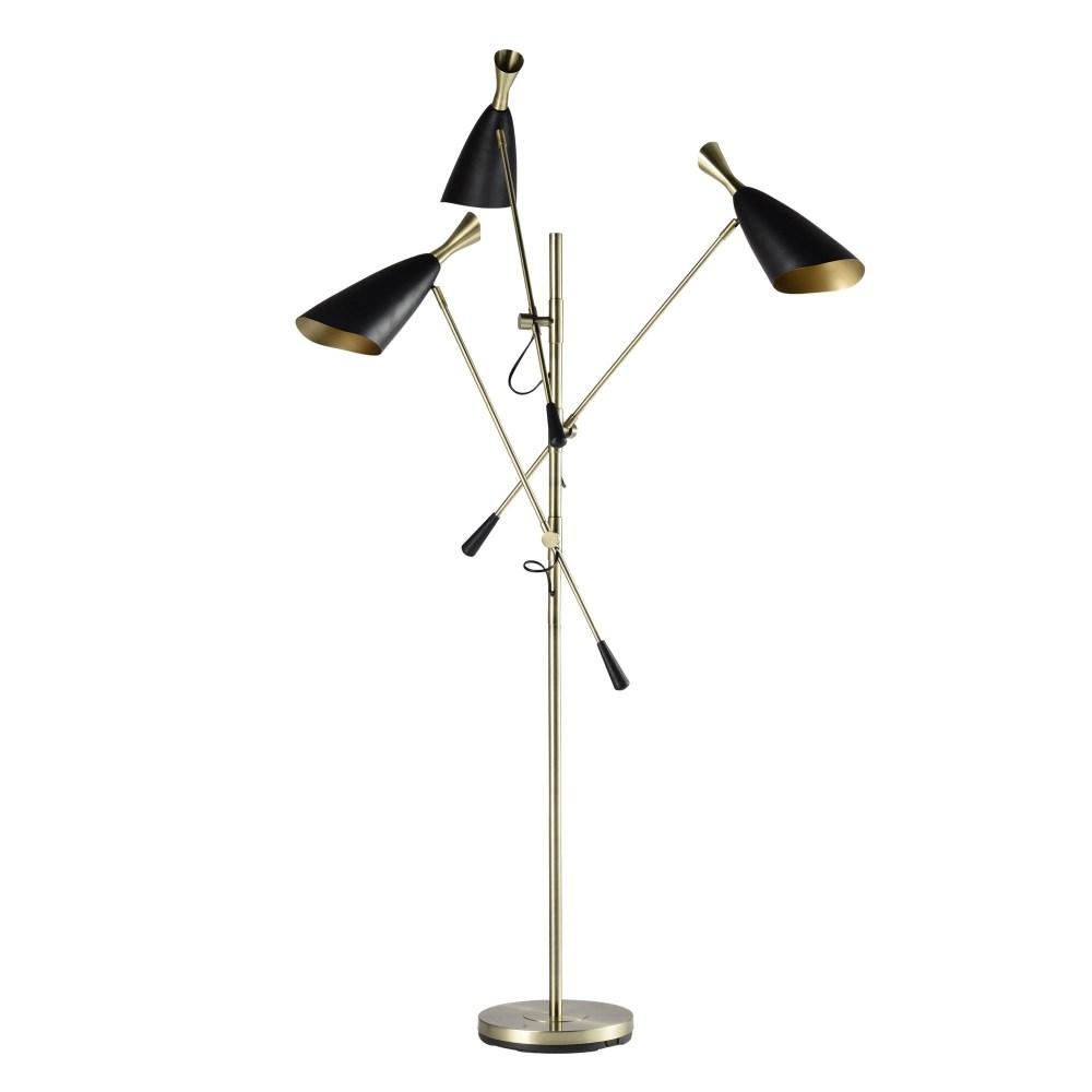 Rhodes 3-Light Floor Lamp