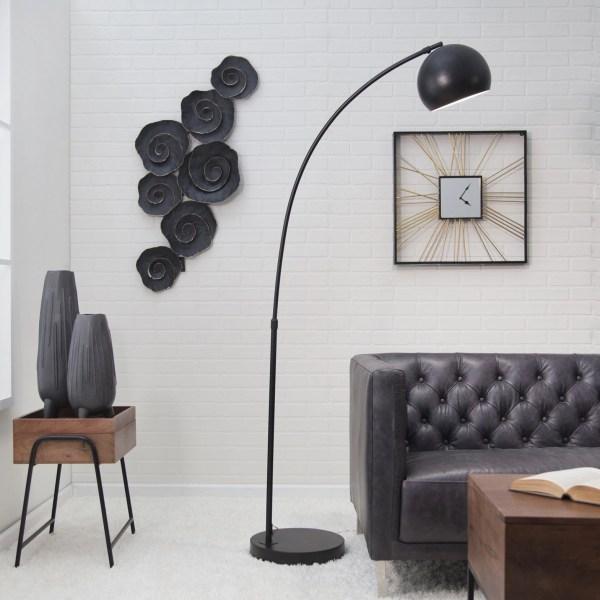 Astoria Arc Floor Lamp - Black