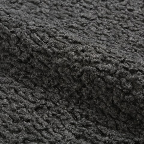 Sheepskin Charcoal [100% polyester]