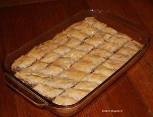 Homemade Pakhlava