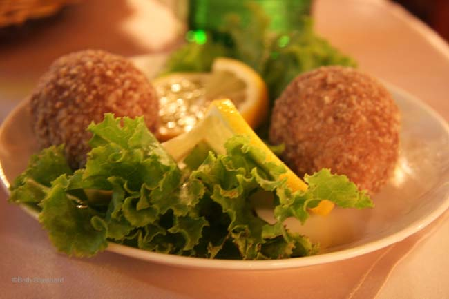 Armenian kufta in Yerevan