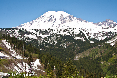 Mt. Rainier Washington State