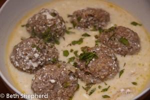 Kufteh Yaghenee, Armenian recipe
