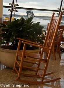 Sea-tac rocking chair