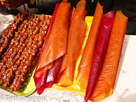 Fruit leather rolls in Armenia