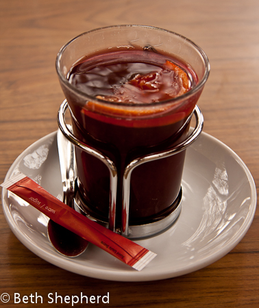 Mulled wine in Paris