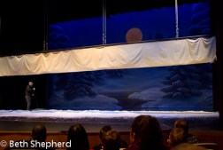 How the snow falls at the Nutcracker