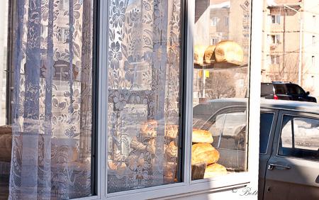 Gyumri bread kiosk