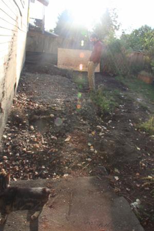 Yard gone