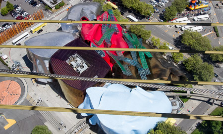 Experience Music Project (EMP) from above