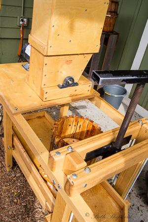 City Fruit cider press